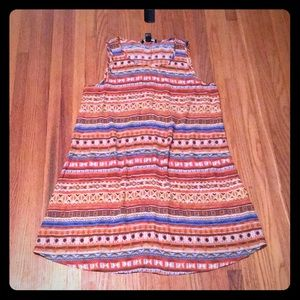NWT Forever 21 Tribal Print Dress Size Small